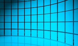 3d abstract design squares. Background Royalty Free Stock Image