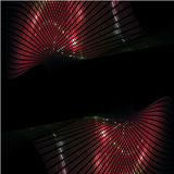 3d Abstract Dynamic Lights. Background Royalty Free Stock Image