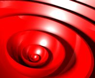 3d abstract glossy plastic circles. Background Royalty Free Stock Image