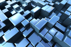 3d abstract graphic background Royalty Free Stock Images