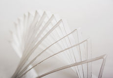 3d abstract paper composition Stock Image