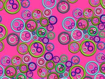 3D-abstract pattern(pink) Stock Photos