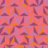 3d abstract pyramidal pattern Stock Image