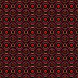 3d abstract ruimtepatroon royalty-vrije illustratie