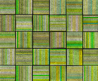 3d abstract striped tile backdrop in green yellow. Abstract striped tile backdrop in green yellow Royalty Free Stock Photography