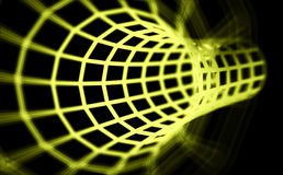 3D abstract Tunnel Royalty Free Stock Images