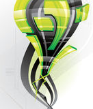 3d Abstract vector illustration Stock Photo