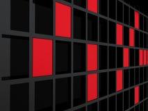3d abstracte achtergrond. Stock Afbeeldingen