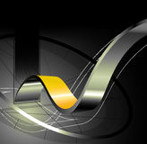 3d abstracte achtergrond stock illustratie