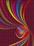 3d abstracto Stock de ilustración
