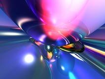 3d abstrakcjonistycznego tła kolorowa menchii tapeta Zdjęcia Stock