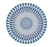 3d abstrakcjonistyczny tła metalu koło ilustracji