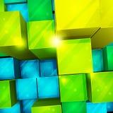 3d abstrakcjonistyczny tło Zdjęcie Stock