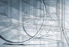 3d abstrakta projekta ilustraci tło ilustracja wektor