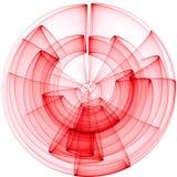 3d abstrakta tło Obrazy Stock