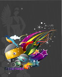 3d abstrakta wektor Fotografia Royalty Free