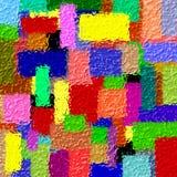 3D abstrakte Colorfull Auslegung lizenzfreie abbildung