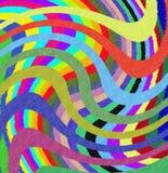 3D abstrakte Colorfull Auslegung Stockbilder