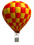 3d aerostat. On a white background Stock Images