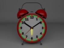 3d alarm clock. Illustration of 3d alarm clock Stock Photo
