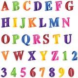 3D Alphabet Stock Photography