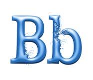 Free 3d Alphabet, Metallic Blue Letter B, 3d Illustration Stock Image - 180681141