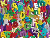 3D Alphabet - Vector stock photography