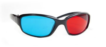 3D anaglyph glasses Stock Photography
