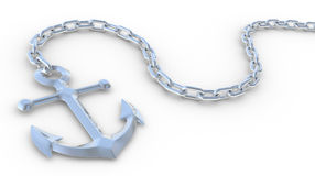 3d anchor Royalty Free Stock Image