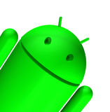 3d android Obraz Stock