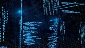 Free 3d Animation About Network Data Flow Stock Images - 42768614