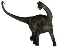 3d antarctosaurus dinosaur ilustracji