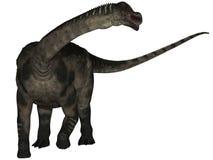 3d antarctosaurus dinosaur royalty ilustracja