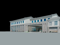 3d architectural Royalty Free Stock Photo