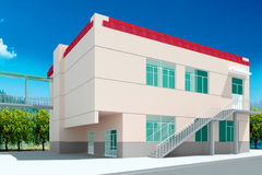 3d architectural Royalty Free Stock Image