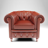 3d armchair Royalty Free Stock Photography