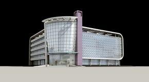 3d arquitectónico ilustração stock