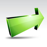 3d arrow. Royalty Free Stock Image