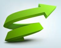 3d arrow Stock Photos