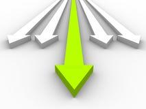 3D arrows Stock Photos