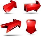 3d arrows. Stock Image
