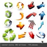 3d Arrows - Set 1