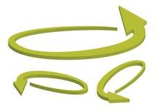 3d arrows - vector Royalty Free Stock Photo