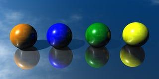 3D astratto Fotografie Stock Libere da Diritti