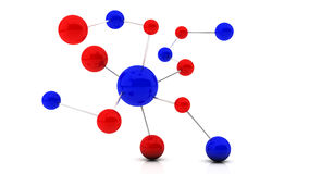 3d atom Royalty Free Stock Photography