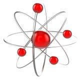 3d atom ilustracja Obraz Royalty Free