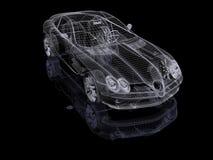 3d auto Royalty-vrije Stock Afbeelding