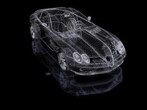 3d automobile Royalty Free Stock Image