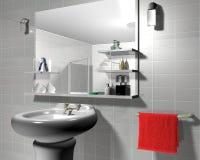 3d łazienka Zdjęcie Royalty Free
