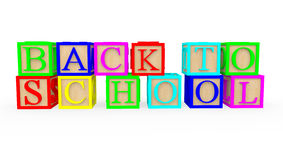 3D Back to school Stock Photos